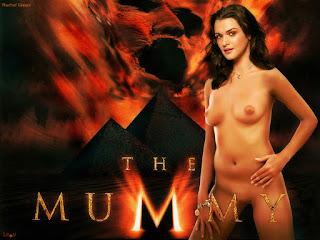 rachel weisz nua filme a mumia
