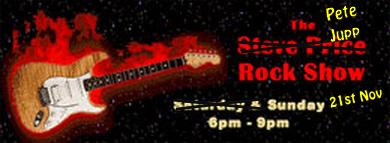 The Pete Jupp Rock Show on ARfm