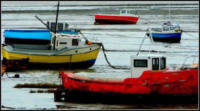 fishing boats, morecambe,