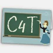 Picture of teacher at board that displays C4T