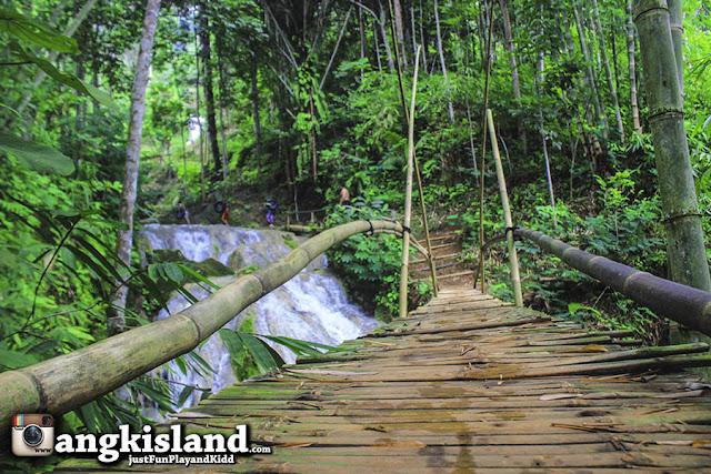 jembatan bambu mudal