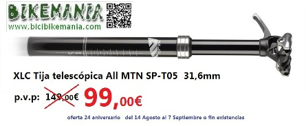 XLC Tija telescópica All MTN SP-T05
