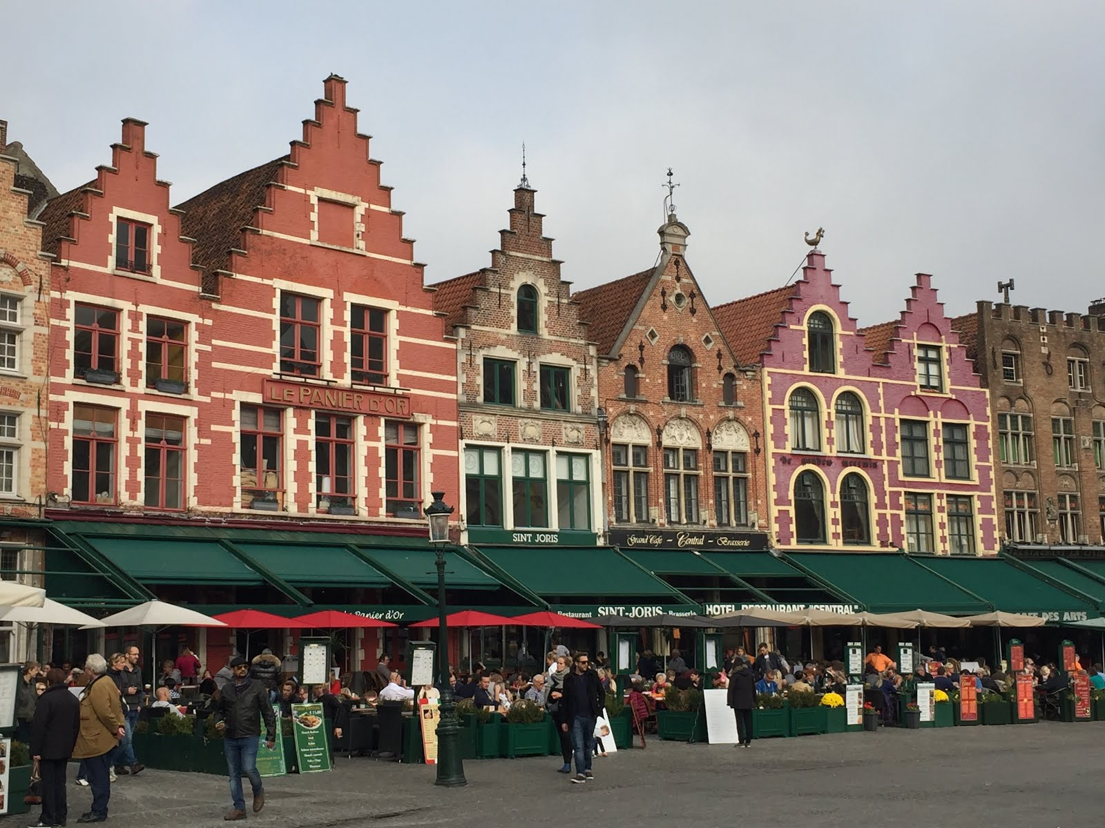 Markt -Marketplace Brugge, Belgium