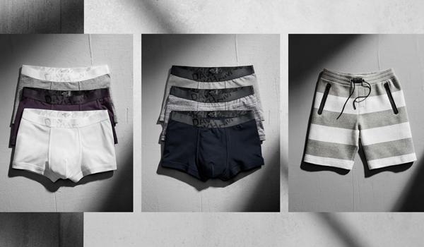 David Beckham Bodywear H&M calzoncillos boxer y pantalón corto chándal