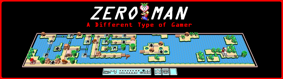 Zero Man: A Different Kind of Gamer