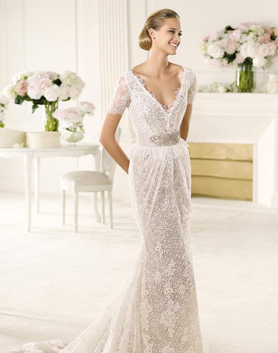 Runway fashions about weddings inspired pronovias wedding for Spanish wedding dress designers