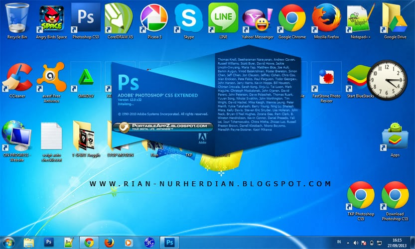 Screen Shoot - Adobe Photoshop CS5 Portable Terbaru