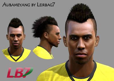 Aubameyang Face By Leirbag7