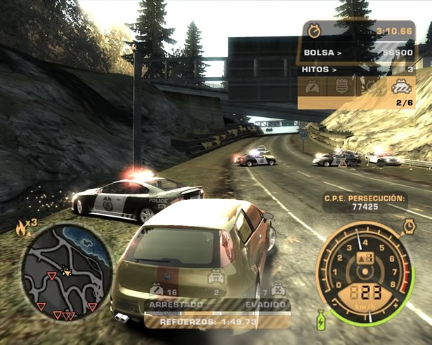 need for speed most wanted black edition pc