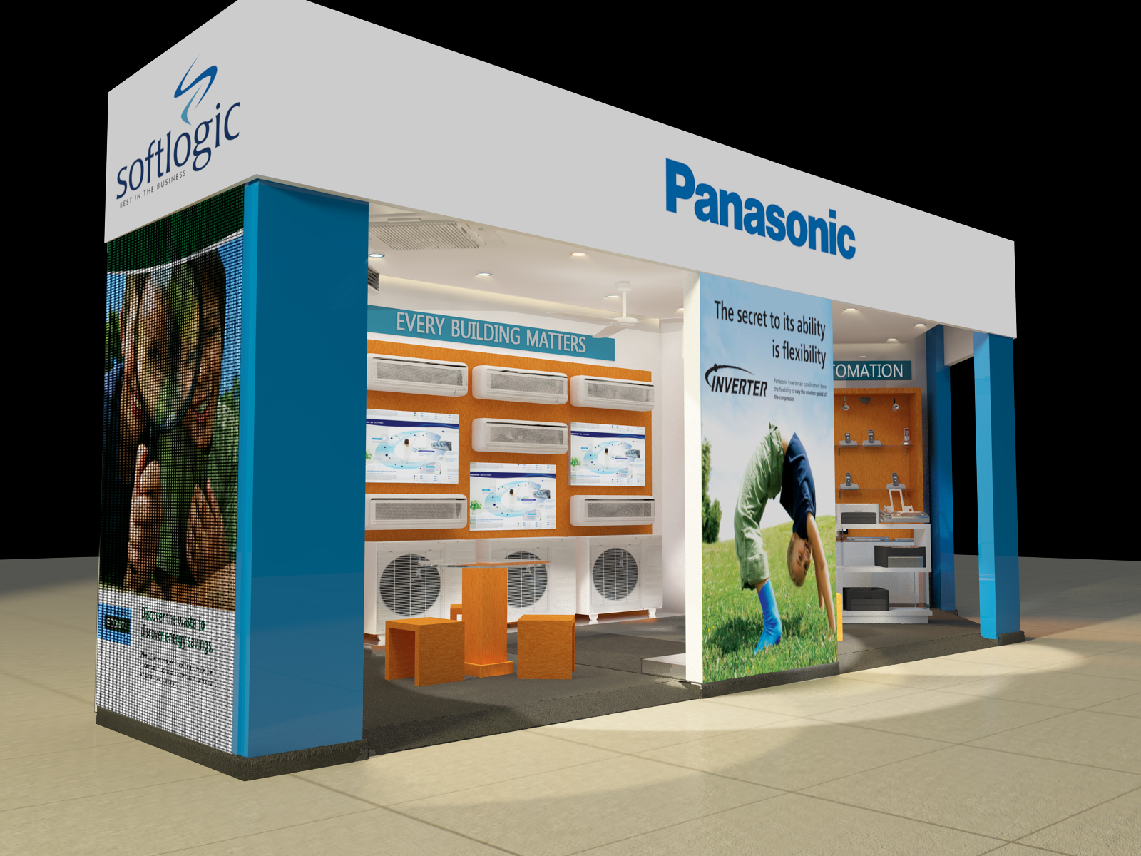 Exhibition Stall Builders In Sri Lanka : Thilan s d artworks gallery panasonic exhibition stall