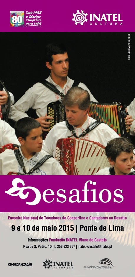 DESAFIOS – Encontro Nacional de Tocadores de Concertina e Cantadores ao Desafio