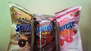 Sponge Crunch Oishi