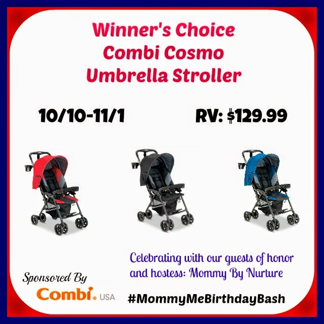 Ramblings of Mama: Combi Cosmo Stroller   #win @CombiUSA Cosmo Stroller #MommyMeBirthdayBash @giveaway #baby #babygear #stroller