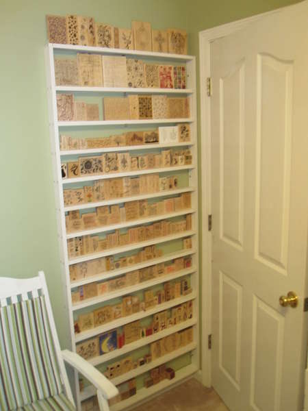 Tracys treasures thinking wood mount stamp storage - Scrapbooking storage ideas for small spaces plan ...