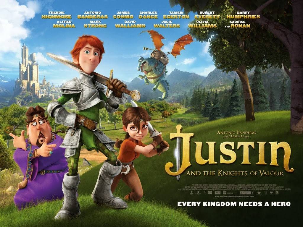 Download Film justin and the knight of valour 2013