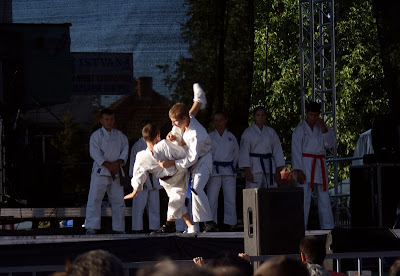 Demonstratie karate MIKADO Covasna