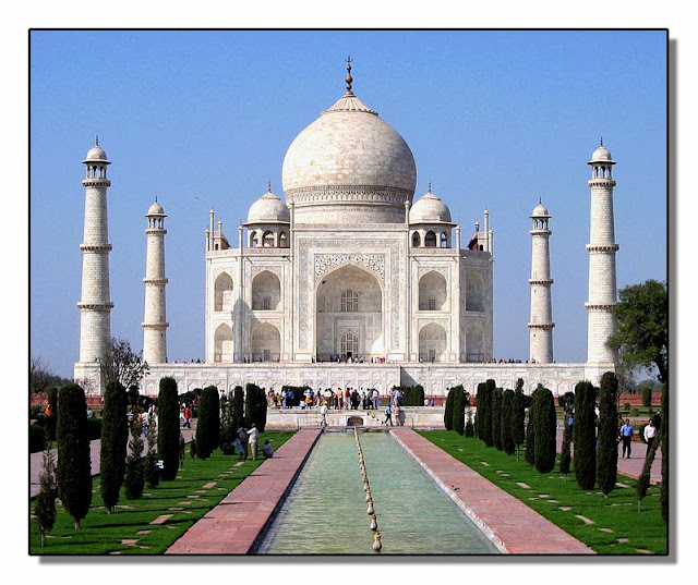 El Taj Mahal (La India)