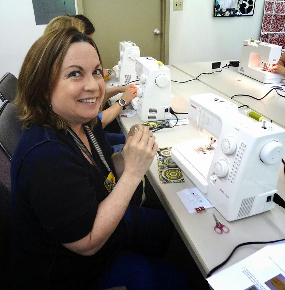 Roberta Birnbaum Janome sewing