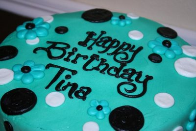 Birthday Cake For Little Sister ~ Only the manager: happy birthday tina!