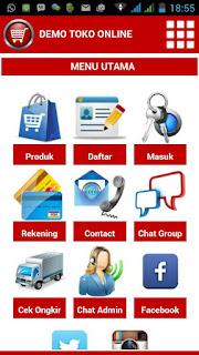 Jasa Aplikasi Toko Online shop
