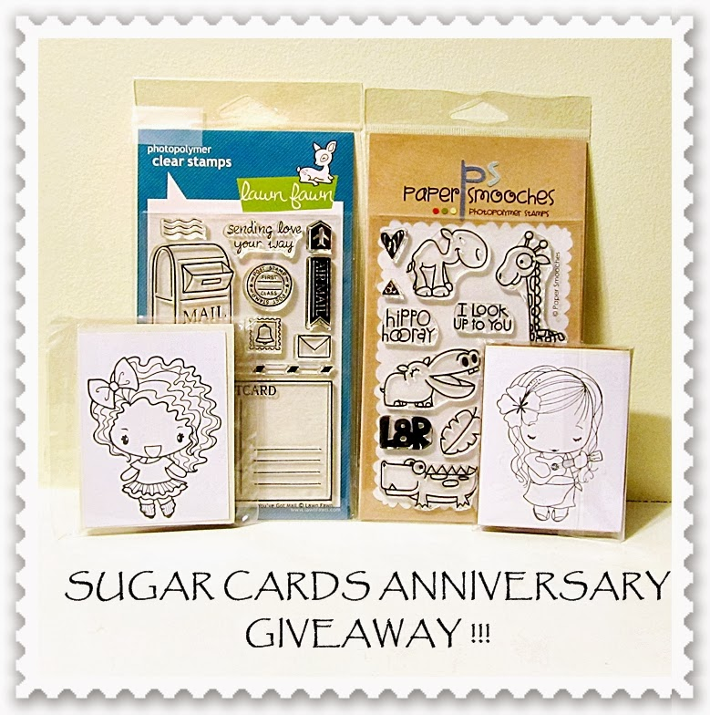 Grace's blog anniversary giveaway