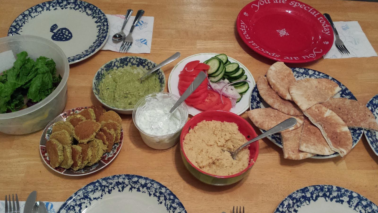 Greek night: Falafels