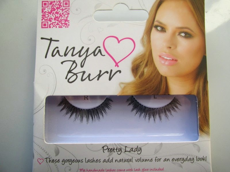 tanya burr cosmetics lashes review
