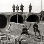 Bazalgette Inspects construction