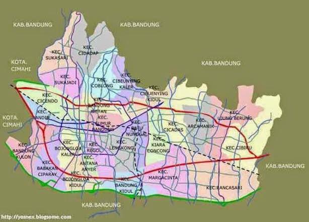 Area Layanan sewa rental ht murah di Bandung