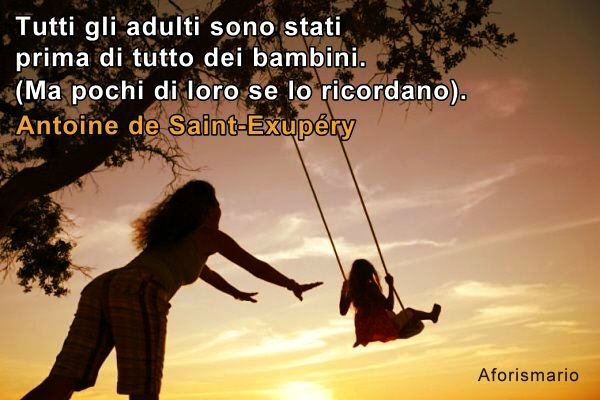 Famoso Aforismario®: Antoine de Saint-Exupéry - Le frasi più belle del  FV47