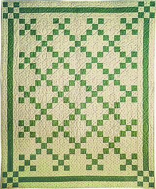 Irish Double Chain Quilt Pattern Free : Quilt Inspiration: Free pattern day: St. Patrick s Day