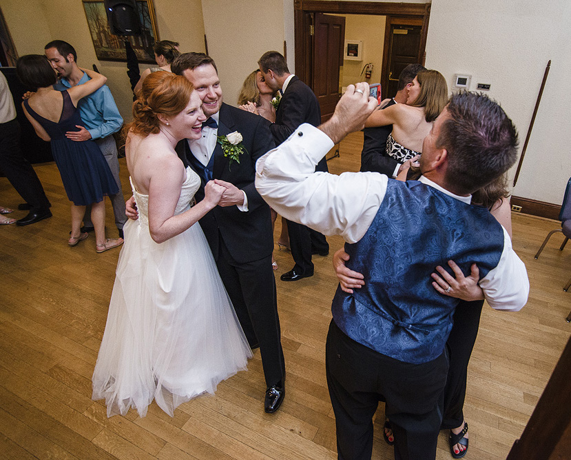 Wedding Photography at Old Town Hall in Falls Church