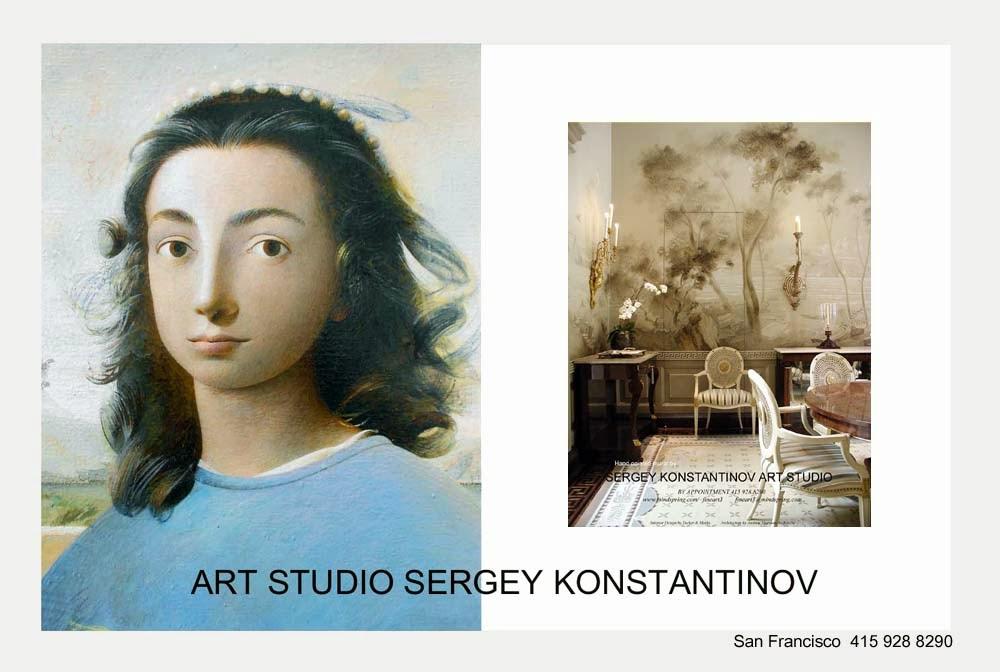 Google+ Art Conservation & Restoration Sergey Konstantinov.