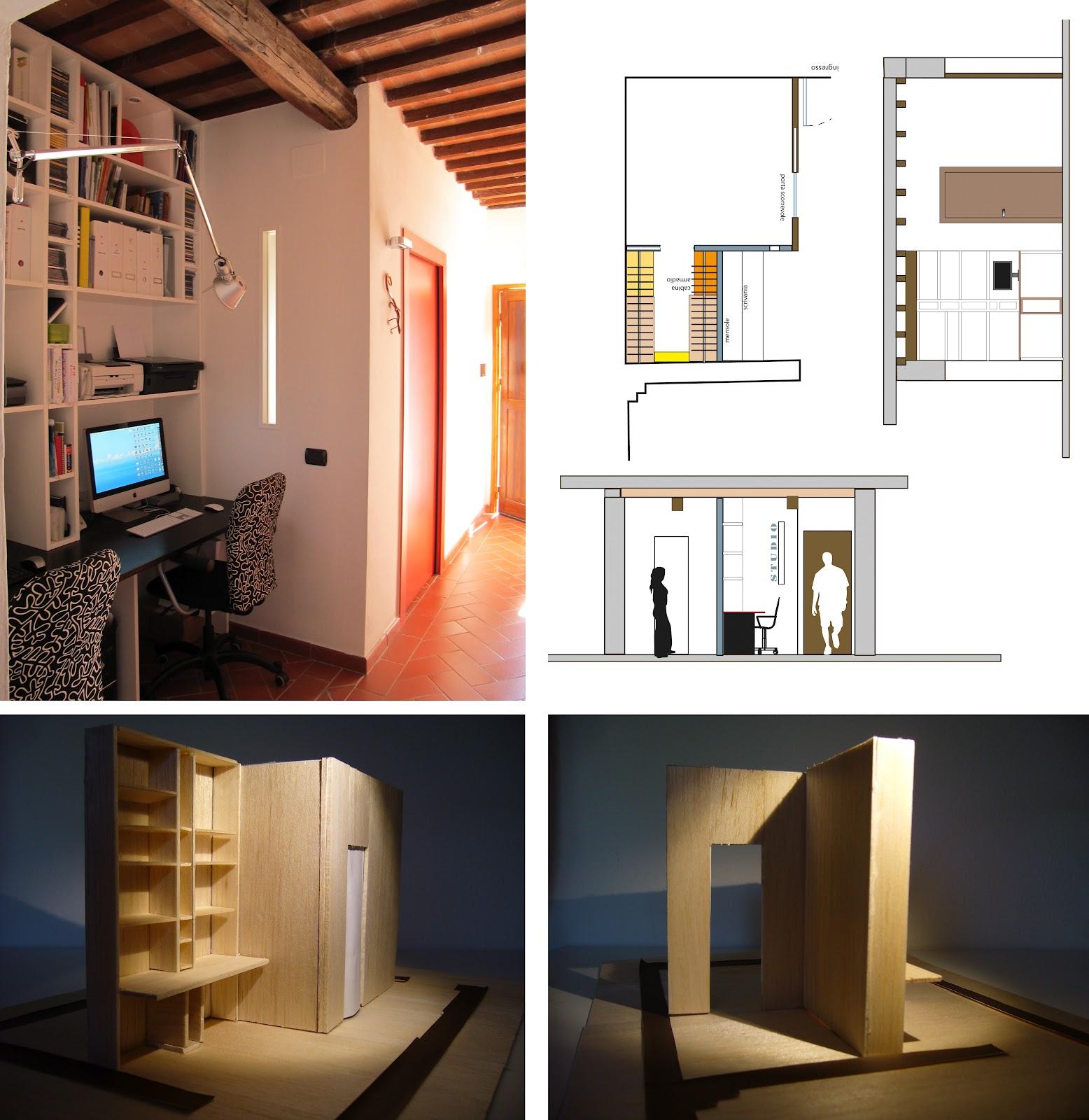 Raffaella gemma interior design postazione lavoro e cabina armadio - Offerte lavoro interior designer roma ...
