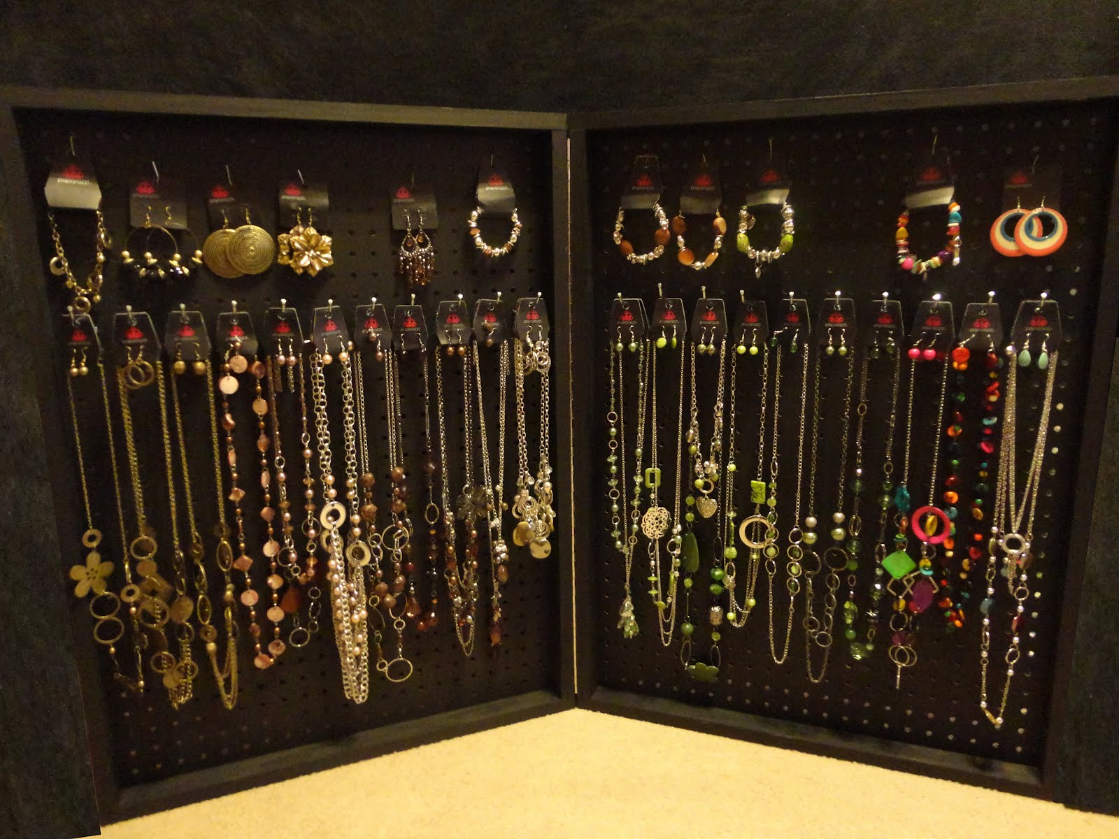paparazzi accessories by jennifer jewelry display cases