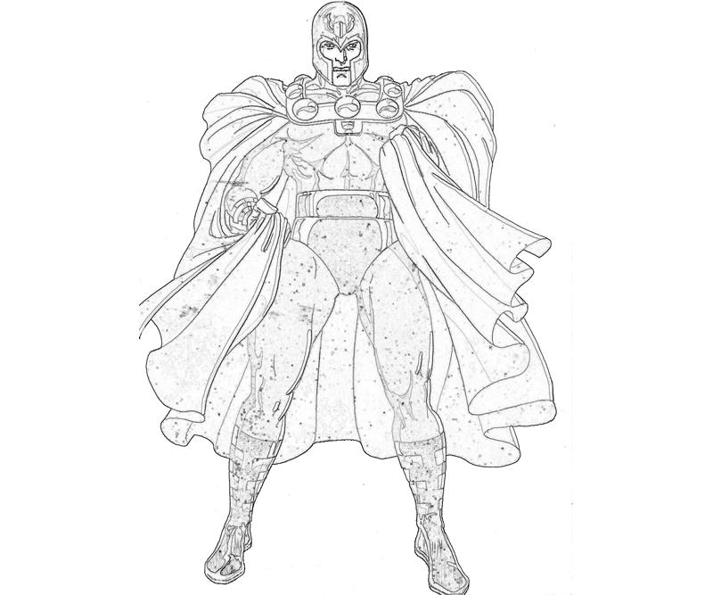 Marvel ultimate alliance 2 magneto skill surfing for Magneto coloring pages