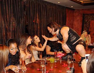 Kim Kardashian's Bachelorette Party at Tao