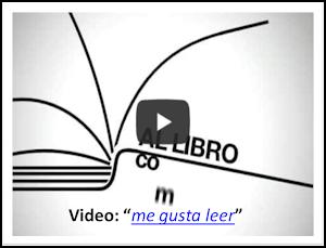 """Video: """"ME GUSTA LEER"""""""