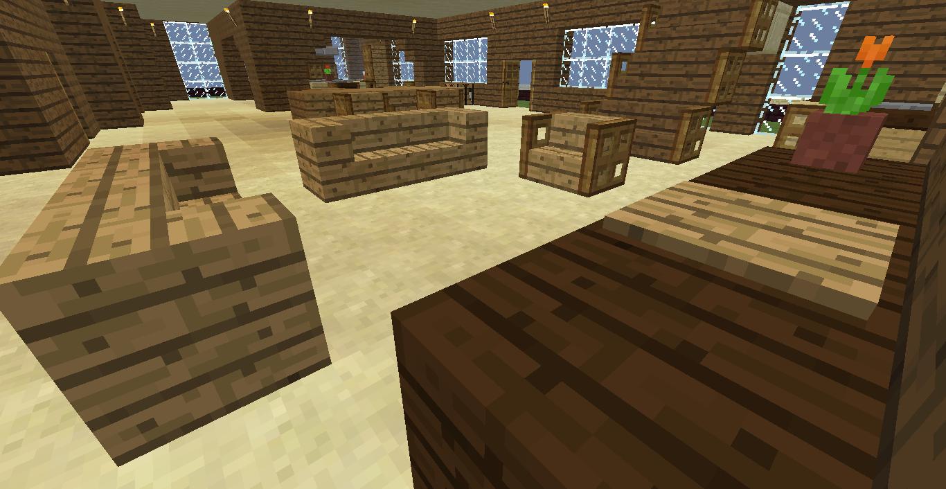 Sala De Estar Minecraft ~ Tudo Sobre Minecraft Dicas de Decoração