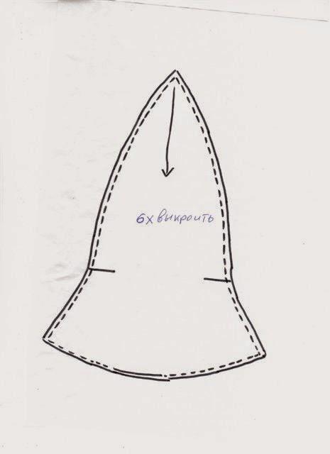 Как сшить шапочка колокольчик 10