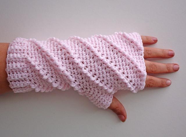 crochet gloves model-Knitting Gallery