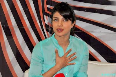 Priyanka Chopra during a Press Meet in Imphal 5
