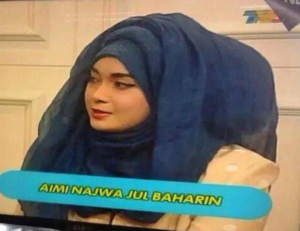 Biodata Aimi Najwa Bt Jul Baharin 5 Gambar Fesyen Tudung Aimi Najwa