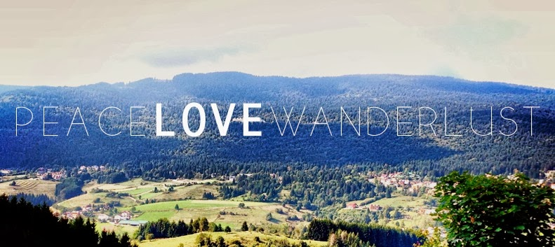 Peace Love Wanderlust