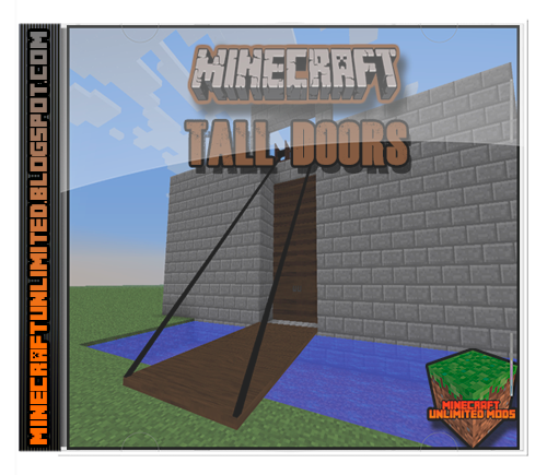 Tall Doors Mod Minecraft