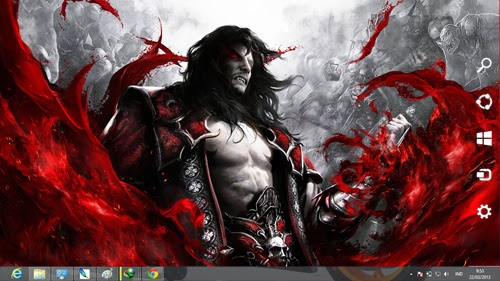 Castlevania Lords Of Shadow 2 Theme For Windows 7 And 8 8.1