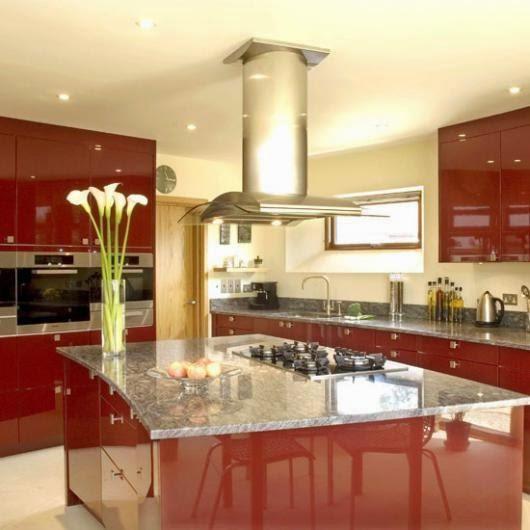 3300 3 or 1401695934 تصميم وديكور مطبخ بمساحة كبيرة بالصور