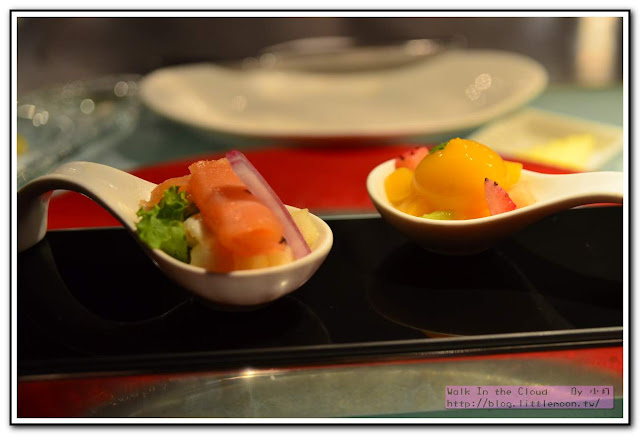夏慕尼新香榭鐵板燒 - 開胃菜