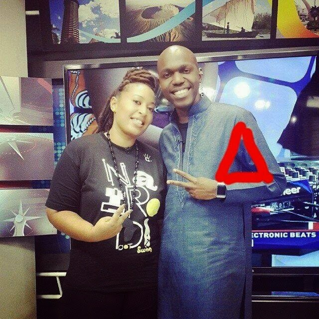 are members of illuminati and here are some photos from kenyans online ...