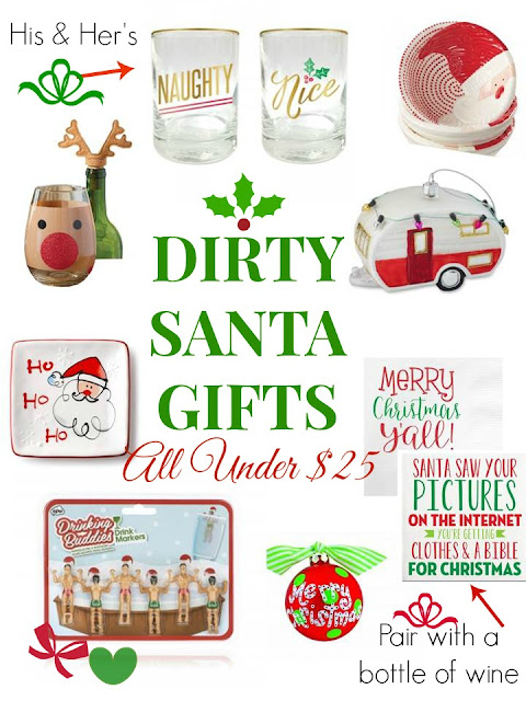 Dirty Santa Gifts- Christmas at Swoozie's